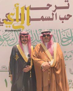 سعد ال صنيج يحتفل بحصول ابنه محمد على البكالوريوس