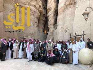 وفد مبادرة تراثنا رؤية 2030 يقوم بزيارة محافظة الاحساء