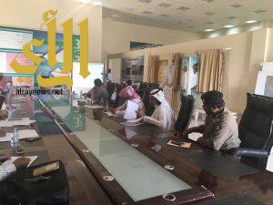بلدية العيدابي تستضيف ورشة عمل لجنة التقصي الوبائي