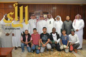 مكتب هيئة الرياضة بجازان ينفذ رحلة لمشرفي الأندية الى مدينة جدة