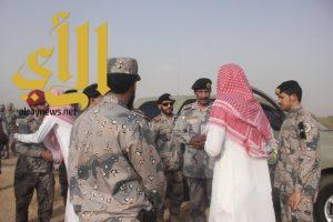 الريثي والعتيبي يتقدمان مشيعي شهيد الواجب العريف محمد محزري