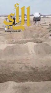 شاهد .. قبيلة آل كزمان تفقد سبعة من أبنائها في حادث مروري
