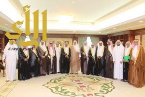 أمير منطقة جازان يستقبل أعضاء مجلس المنطقة الجدد
