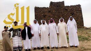 محافظ هروب يستقبل فريق هايكنج السعودية