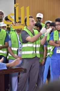 500 شاب وشابة يطلقون مبادرة العناية بالقدمين لضيوف الرحمن