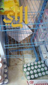 بلدية القفل تصادر مواد غذائية فاسدة