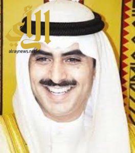 الشيخ ثامر الصباح ينقل تعازيه للزميل احمد ال شاطر