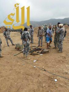 القضاء على متمردين حوثيين بقطاع الداير في جازان