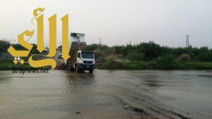 بلدية الحُرث تستعد لموسم الأمطار بفرق ميدانية