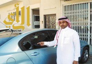 سرقة سيارة مواطن من أمام منزله ببيش في وضح النهار