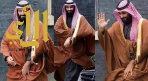 زيارة ولي العهد الأمير محمد بن سلمان إلى لندن