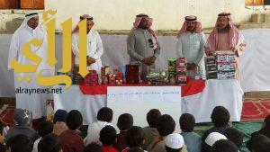 مدرسة اللاوات وجبل الجذم بالعارضة تكرم طلابها المتميزين وأبناء المرابطين
