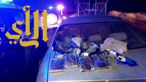 دوريات جازان تضبط كميات من الحشيش المخدر وتطيح بمطلوبين في قضايا جنائية