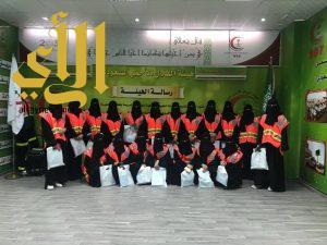 هلال تبوك يُقيم دورة للمتطوعات في برنامج الأمير نايف للإسعافات الأولية