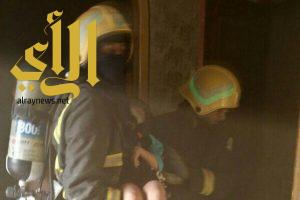 إنقاذ أسرة سعودية اختنق جميع أفرادها في حريق بضمد