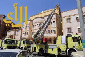 وفاة امرأتين وإصابة أخرى في حريق منزل ببطحاء قريش