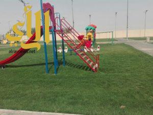 بلدية الصداوي تجهز الحدائق والمتنزهات لاستقبال الزوار
