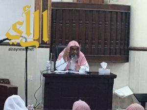مركز الدعوة والإرشاد بمحافظة الداير يقيم محاضرة ضمن برنامج الأمن الفكري