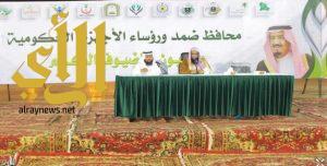 """""""فعاليات شتاء ضمد"""" تستضيف فضيلة مدير عام الشؤون الإسلامية بالمنطقة في لقاء مفتوح"""