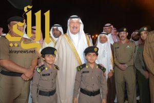 أمير جازان يدشن فعاليات أسبوع المرور الخليجي الموحد