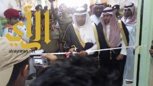 القصيبي يدشن فعاليات اسبوع المرور الخليجي الموحد بمحافظة بيش