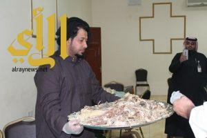 بر بلجرشي : حفظ النعمة يجمع قرابة 7500 كيلو غرام من فائض طعام المناسبات
