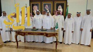 توقيع اتفاقية شراكة استراتيجية بين المهندسين السعوديين وجامعة جازان