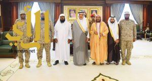 أمير منطقة جازان يستقبل الشيخ د.  سعيد بن مسفر