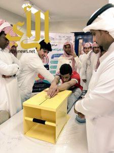 برنامج تعزيز الصحة ونمط الحياة الصحي بثانوية الشيخ ابن عثيمين بتعليم الخرج