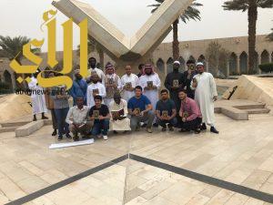 متحف سكة الحجاز يجذب طلاب جامعة الملك سعود ومشرفيهم