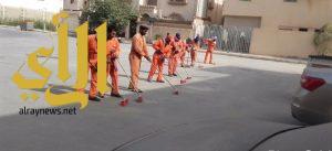 بلدية الجبيل : ختام الأسبوع الأول لحملة ال 200 يوم نظافة