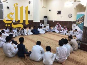 مكتب إشراف حلقات تحفيظ القرآن الكريم بالأساملة ينفذ برنامج «يوم الهمة» ويكرم الحضور