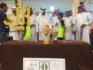 تنمية ضمد ترعى المباراة النهائية بمدرسة أبي فراس الحمداني