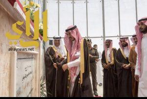 الامير بدر بن سلطان يفتتح مبني بلدية محافظة القريات