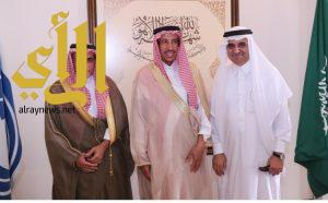 مركز الملك سلمان الاجتماعي يستقبل رئيس الهيئه الملكية الجبيل وينبع