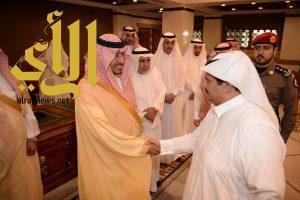 نائب أمير عسير يستقبل المهنئين بعيد الأضحى المبارك