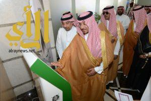 نائب أمير عسير يطلع على مشاريع أمانة المنطقة