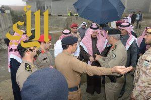 أمير عسير سنحاسب المقصر من المسؤولين والمعتدي من المواطنين