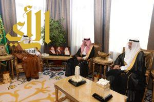الأمير فيصل بن خالد يلتقي معالي مدير جامعة الملك خالد ومعالي مدير جامعة بيشة