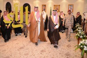أمير عسير يقيم مأدبة غداء على شرف رئيس الهيئة العامة للرياضة