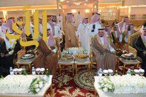 أمير عسير و نائبه يشرفان حفل أسرة آل أبو نقطة المتحمي