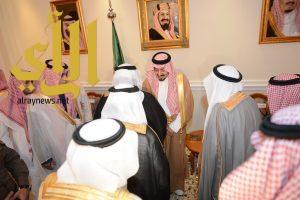 أمير عسير يلتقي أصحاب الفضيلة ومديري الإدارات الحكومية في المنطقة