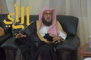 مدير جامعة الباحة يستقبل مدير عام فرع هيئة الأمر بالمعروف