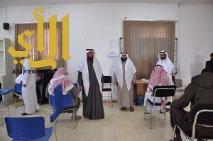 مدير جامعة الباحة المكلف يطمأن على سير الاختبارات بكلية العلوم والآداب ببلجرشي