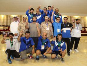 اكتمال عقد الفرق المتأهلة لنصف نهائي الحرس الوطني