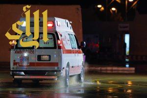 صاعقة رعدية تصيب طفلة بنزيف خارجي بمنطقة الباحة