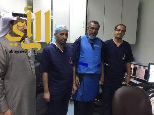 الصحة .. نجاح عملية تركيب فلتر لمريضة لمنع تسرب الجلطات إلى الرئة