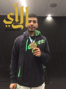 آل حسين يحقق ذهبية أرنولد في المبارزة