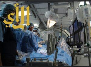 إجراء عملية قلب مفتوح بسبب زيادة الوزن وتمدد الشريان