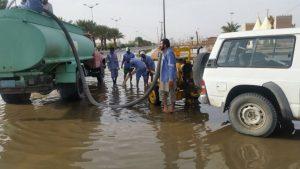 البشر : بلدية بيشة تعاملت مع السيول وفق ما يجب